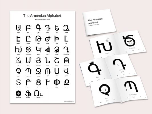 Armenian Alphabet - A new way of old school